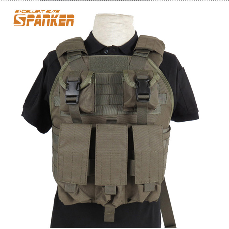 1000D Tactical Airsoft Paintball Molle Vest Plate Carrier Military Vest Military Chest Rig Hunting Vests Sets Army Gear Clothing<br><br>Aliexpress
