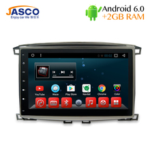 Android 6.0 Car DVD Stereo Multimedia For Lexus LX470 Toyota Land Cruiser100/LC100 Auto Radio GPS Glonass Navigation 2G ROM(China)