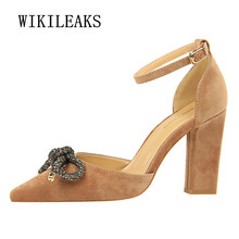 Buy 2018 butterfly-knot pumps women shoes fetish high heels ladies shoes woman sexy high heel mary jane wedding shoes zapatos mujer