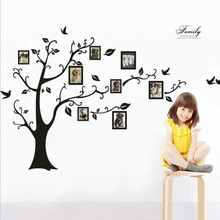 Fashion Magical Tree Photo Removable Memory Wall Stickers Art Home Decor DIY Photo Gallery Frame Decor Funny Style(China)