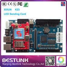 xixun 3g sending card k23 control card 160*2400 pixel rgb video led controller card outdoor led advertising display screen board