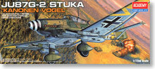 "ACADEMY 12404 Ju87G-2 antitank Stuka attack machine ""Cannon Bird"""