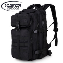 YUETOR 35L Molle Hunting Camo Hiking Bag Assault Pack Mochila Militar Tactica Outdoor Military Tactical Backpack for Camping