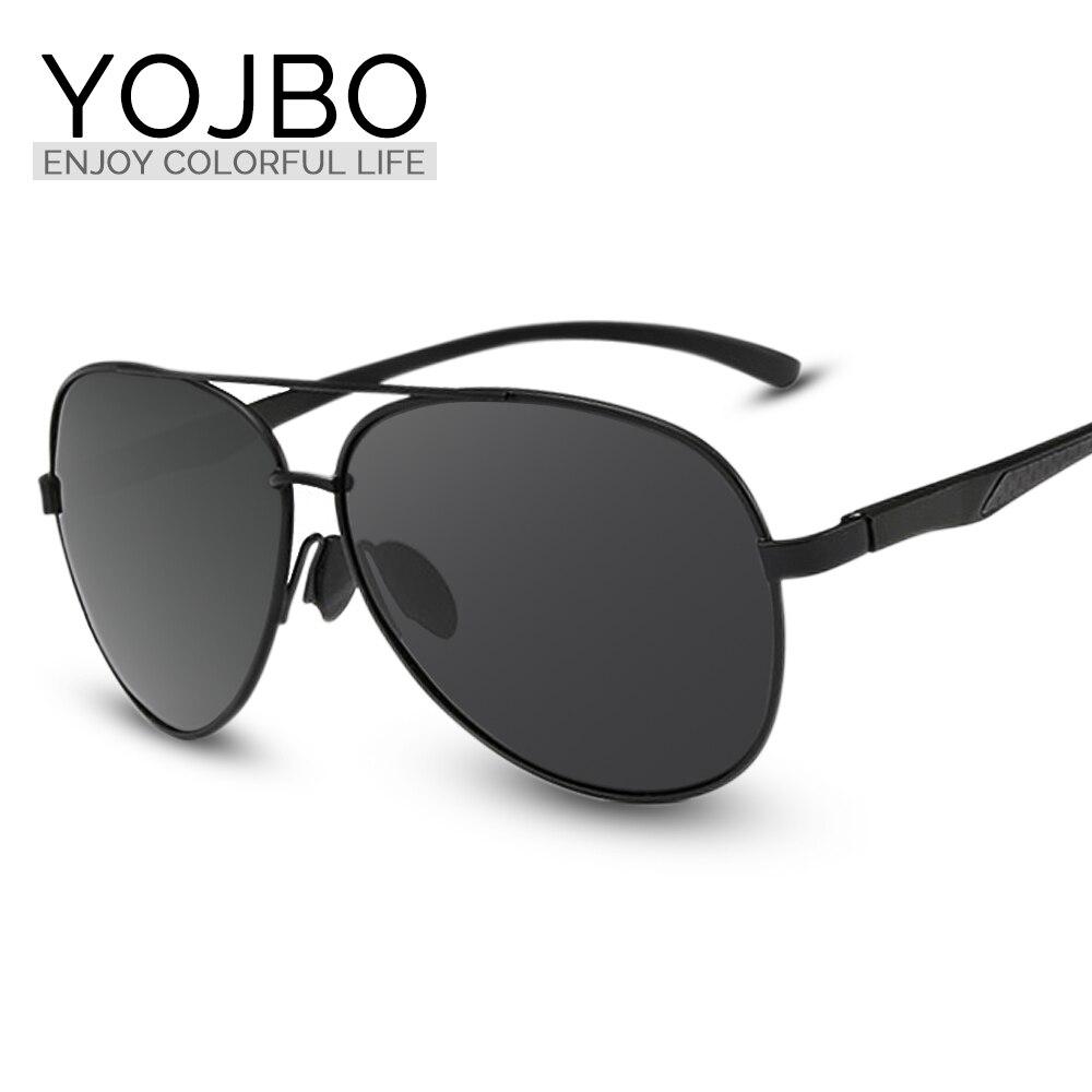 YOJBO Men Polarized Sunglasses Alloy Brand Designer Mirror Sun Glasses 2017 Women  High Quality Driving So Real Oculos<br><br>Aliexpress