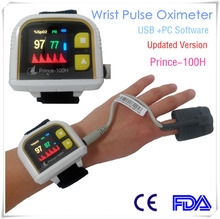 Wrist Pulse Oximeter sleep analysis external adult soft probe with USB cable PC software(China)
