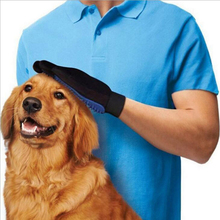 1pc Pet Cleaning Brush Glove Magic Dog Cat Hair Removal Grooming Finger Glove Puppy Bath Mitt Massage Health Supplies