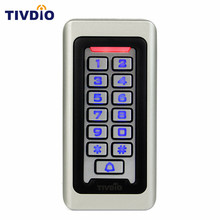 Waterproof Metal Case Keypad For RFID Proximity Card Standalone Access Control& 2000 Users For Outdoor & Indoor Silver F9501(China)