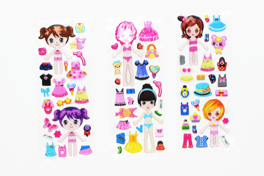 8-Sheets-Princess-Dress-bubble-stickers-Cute-DIY-Stickers-Lovely-Girls-Dress-up-Girl-Changing-Clothes (5)