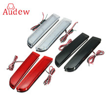 30 LED Red Rear Bumper Reflector Tail Brake Stop Running Turning Light Lamp For Mitsubishi Lancer 2008-2014(China)