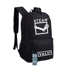 New STEAM Backpack Anime Game bags Student oxford Schoolbags AS Gift