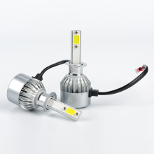 H4 Car LED Headlight 72W/set DC 12V 24V Hi-lo Beam Light Bulb Auto Head Lamp 6500k For Chevrolet Lada Nissan Honda Mazda
