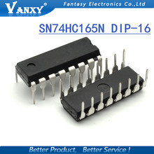 10PCS SN74HC165N DIP16 SN74HC165 DIP 74HC165N 74HC165 new and original IC free shipping
