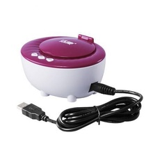 2 and 5 Minute Timer Automatic Contact Lens Ultrasonic Cleaner Ultrasonic Cleaning Machine Wash Bath, USB DC 5V, 46KHz