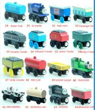 Thomas & His Friends-New Wooden Trains Anime Model Manetic Train Toys for Children Kids Gifts Lady Diesel Paxton Annie Mac Mavis(China)