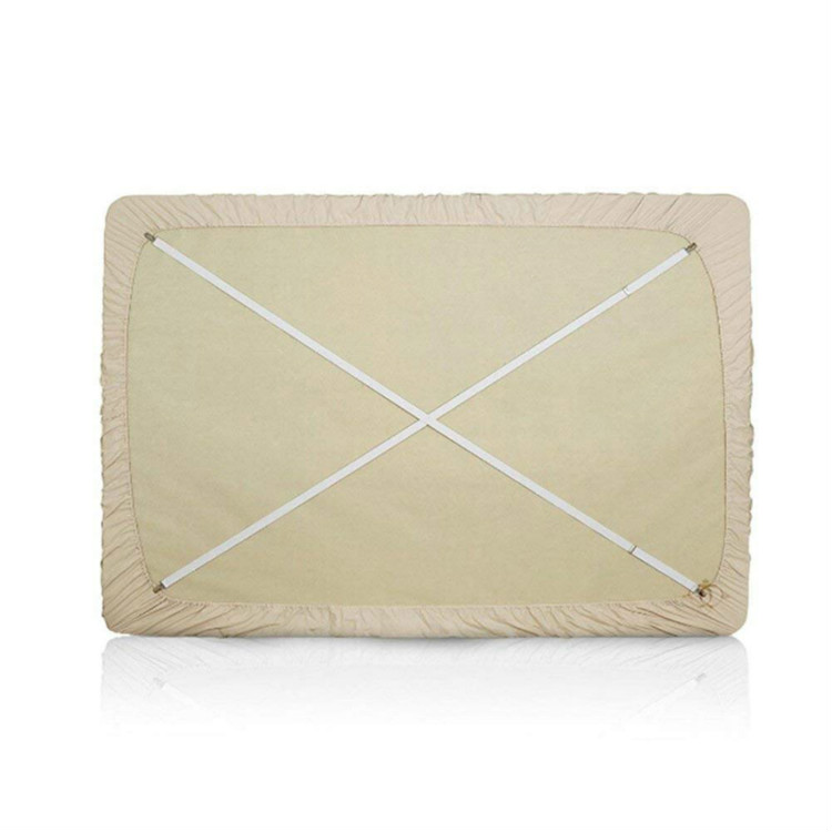 Balck Bed Sheet Clip,Sofa Slipcover Holder,Hold the Sheets Tightly,20 to 78,4 Pieces