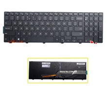 New US Keyboard backlight For Dell Inspiron 15 3000 5000 3541 3542 3543 5542 5545 5547 15-5547 15-5000 15-5545 17-5000 15.6""