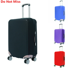 Travel suitcase dust cover Shell elasticity Stretch Trolley Case Dust Cover Suitcase Protective Trunk Covers Apply To 18~30 Inch