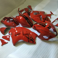 Injection Mold FAIRING KIT for SUZUKI Hayabusa GSXR1300 96 99 00 07 GSXR 1300 1996 2007 Hot red Fairings set+7gifts SS12