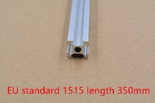 1515 aluminum extrusion profile european standard white length 350mm industrial aluminum profile workbench 1pcs