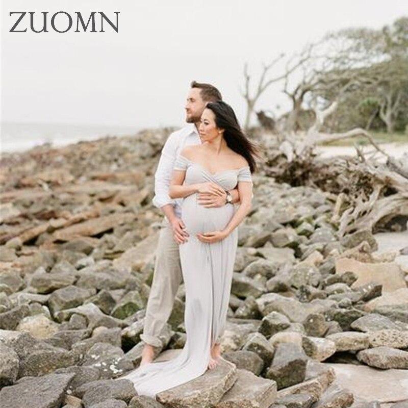 Summer Maternity Dresses Pregnancy Dress for Maternity Photo Props Maternity Photography Props Pregnant Long Dress GH381<br>