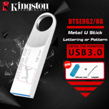 Kingston USB Flash Drive 16gb pendrive USB 3.0 personalized flash drive customized logo cle usb memory stick pen drive U Disk(China)