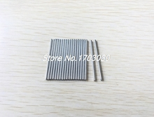 RC Helicopter 50mm x 3mm Stainless Steel Ground Shaft Round Rod 30Pcs(China)