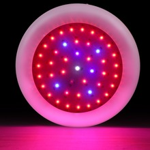 135w UFO LED Grow Light 45X3w led Lamps Full Specturm for Greenhouse Hydroponic Indoor Plant Flowering Growing(China)