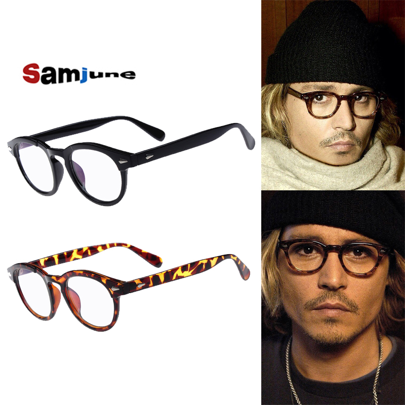 Samjune High QualityJohnny Depp Style Glasses Men ...