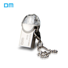 DM PD002 OTG USB Flash Drive 8GB 16GB Metal waterproof Pen Drive Micro USB Portable Storage Memory USB Stick 32GB usb flash disk