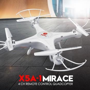 2017 nuevo estilo x5a-1 syma drone 2.4g 4ch rc helicóptero quadcopter sin cámara aviones de cuatro ejes, mostrando de rotación