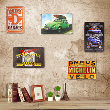 Metal Tin Signs Ford Mustang Mark Garage Coffee Cafe Shop Restaurant Plate Garage Pub Bar Home iron Paintings Wall Decor