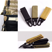 molle attach belt clip webbing backpack strap Quickdraw clasp outdoor kit Carabiner camp tactical travel bag hike bushcraft(China)