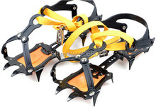 10pcs High Altitude Slip-resistant Strong Ice Crampons Ski Snow Crampons Shoes Snow Walker for Climbing Walking Hiking