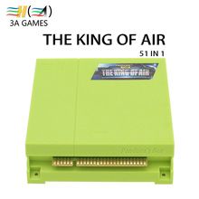 51 in 1 Jamma Multi Game Board Pandora's Box Class The King of Air CGA VGA HD Flight Shooting Game for Vertical Arcade Cabinet(China)
