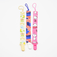 3PCS/Set Baby Pacifier Clips Chain Dummy Clip Pacifier Holder Children Pacifier Clips Nipple Holder Soother Chain For Baby(China)