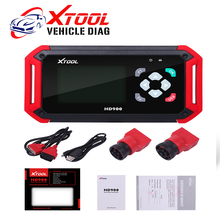 Latest XTOOL Original HD900 Eobd2 OBD2 CAN BUS Auto Diagnostic Heavy Duty Code Reader XTOOL HD 900 DHL Free Shipping