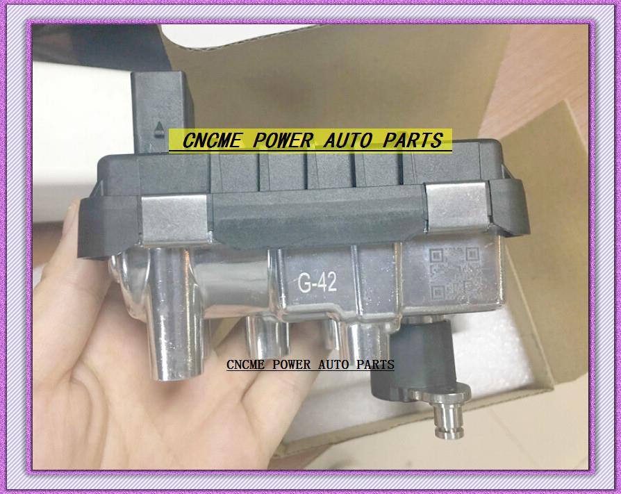 BEST TURBO ELECTRONIC BOOST ACTUATOR Valve G-042 G42 G042 G-42 6NW009206 752406 For Ford Transit 2.4L Stellmotor Control Unit  (1)