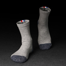 Spring Winter Thermal Tube Socks For Men Terry 100 Cotton Socks Thick Warm Ankle Socks Lot Men Sox Brand 2017 5 Pair ZO-BOC134