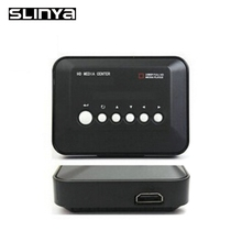 1080P Full HD HDD Media Player INPUT SD/USB/HDD Output HDMI/AV/VGA/AV/YPbpr Support DIVX AVI RMVB MP4 H.264 FLV MKV Music Movie(China)