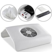 US Plug RUIMIO Women Nail Dust Collector Suction Dust Machine Nail Art Collector Dust Vacuum Cleaner Tool Vacuum Suction