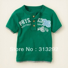 BJS76, Baseball, 6pcs/lot, Baby T shirt, Children Tees, Boy Top, 100% Cotton short sleeve T shirt for 1-5 year.