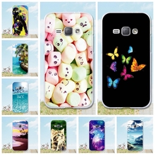 "Buy Coque Samsung Galaxy J1 2016 Case Silicone Back Cover 3D Painted TPU Coque Fundas Samsung Galaxy J1 2016 j120 j120f 4.5"" for $1.00 in AliExpress store"
