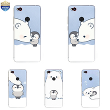 Phone Case ZTE Nubia Z9 MAX Nubia Z11 / Z11 Mini MAX Cover Nubia Z11 MiniS Shell Soft TPU Bears & Penguins Painted