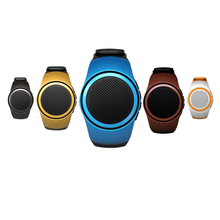 2017 New Hot Smart Bracelet  Mini Wireless Music Watch Speaker Bluetooth Call Watch For Sport Driving FC