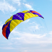 cerf volant sports skiing kite kitesurf parachute vlieger paragliding paraglider big kite parafoil flying outdoor toys rainbow(China)