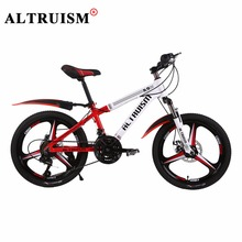 ALTRUISM K9Pro Kid's Bike 21 Speed 20 Inch Bicicleta Double Disc Brake Bisiklet Aluminium Bicycle Boys Girls Mountain Bicycles(China)