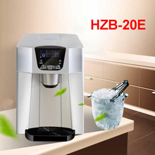 HZB-20E 220 V/ 50 Hz Ice machine commercial milk tea shop home small automatic ice machine large capacity 15kg/24h Ice Maker
