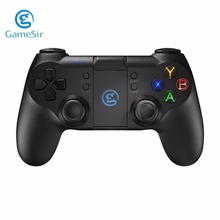 Original GameSir T1 Gamepad Controller Bluetooth 2.4GHz Wired Joystick 3 MCU Chip Backlight For Android Phone PS3 PC(China)