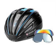WHEEL UP Integrally Aerodynamic EPS Lens Cycling Helmet Ultra-Light Mountain Bike Helmet Universal Bike Accessories Top quality(China)