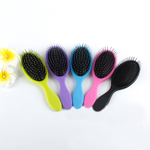 Salon New Detangling  Kids  Gentle  Women men Hair Brush Tangle  Wet & Dry Bristles